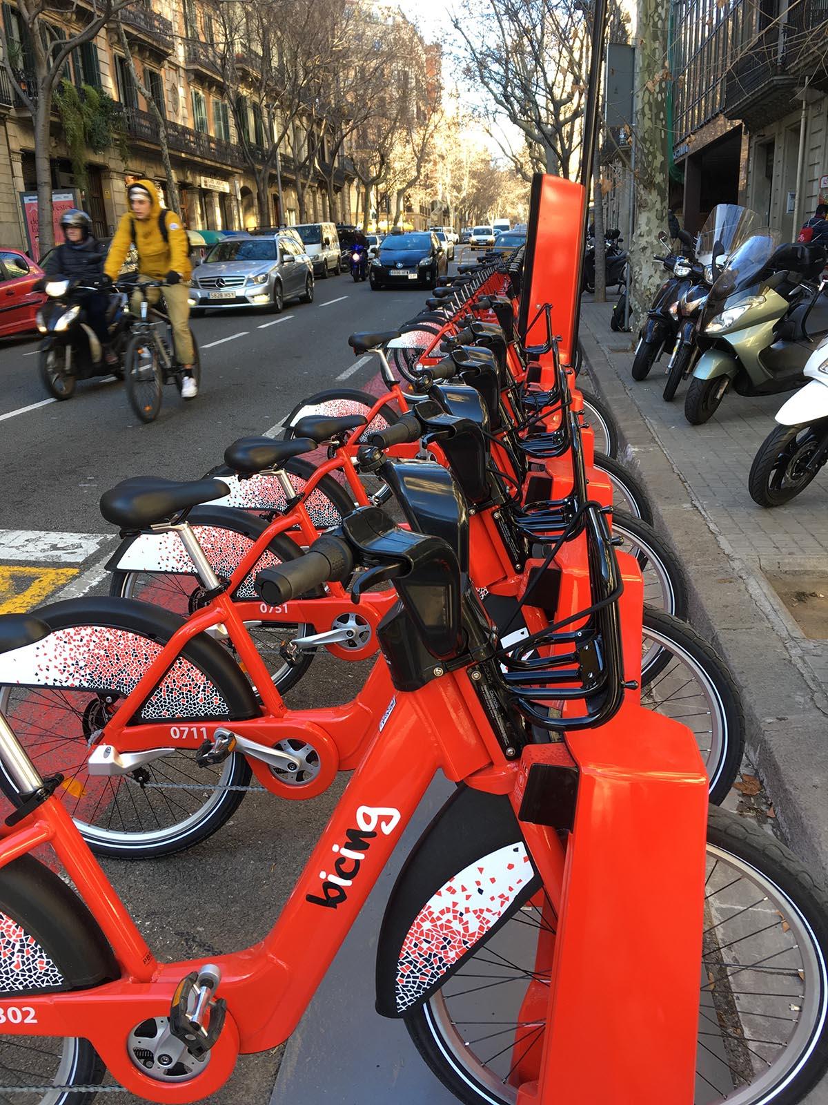 fahrradverleih bicing barcelona
